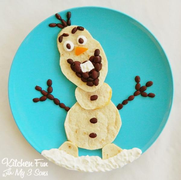Любите красиво поесть? Не вопрос! Все любят Олафа из диснеевского мультфильма Frozen