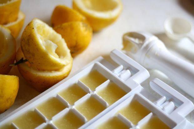 Минеральная вода с мятой и лимоном