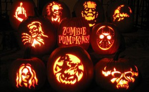 Тыквы к Хэллоуину
