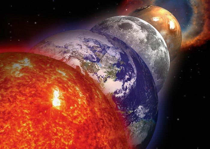 Малый парад планет