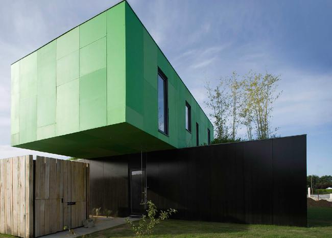 Дом Crossbox. Пон-Пин, Франция