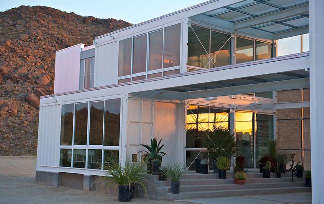 Гибридный дом. Калифорния, США