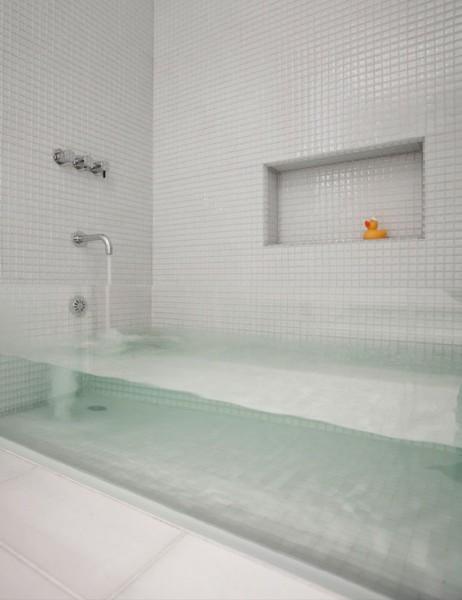 прозрачная ванная