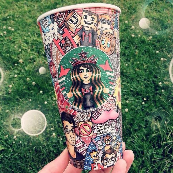 необычная кружка для кофе