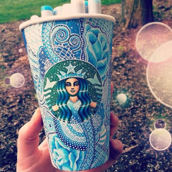 Уникальный дизайн Кружук Starbucks