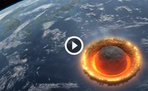 Астероид столкнулся с Землей